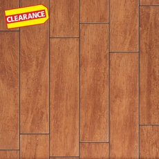 Clearance! Bangor Oak White Body Wood Plank Ceramic Tile