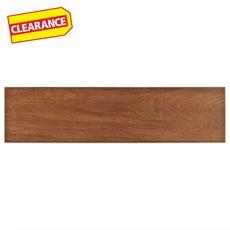 Clearance! Shenandoah Red White Body Wood Plank Ceramic Tile