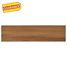 Clearance! Natural Acacia White Body Wood Plank Ceramic Tile