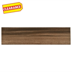 Clearance! Saddle Acacia White Body Wood Plank Ceramic Tile