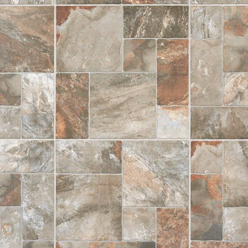 Mix Aran Stone Anti Slip Porcelain Tile 17 X 17 911103865