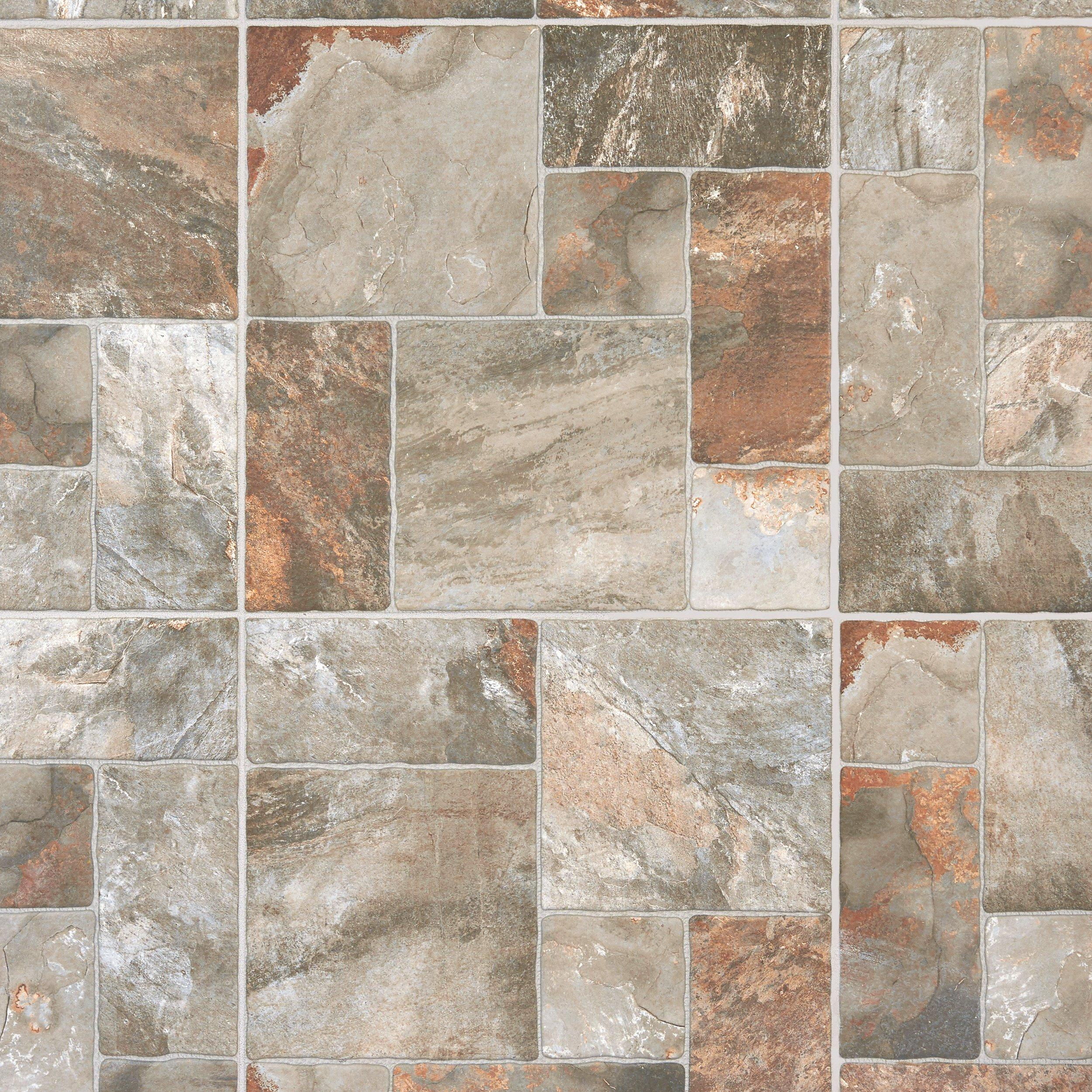 mix aran stone antislip porcelain tile 17in x 17in floor and decor