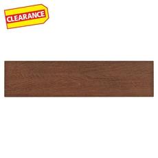 Clearance! Adirondack Red White Body Wood Plank Ceramic Tile