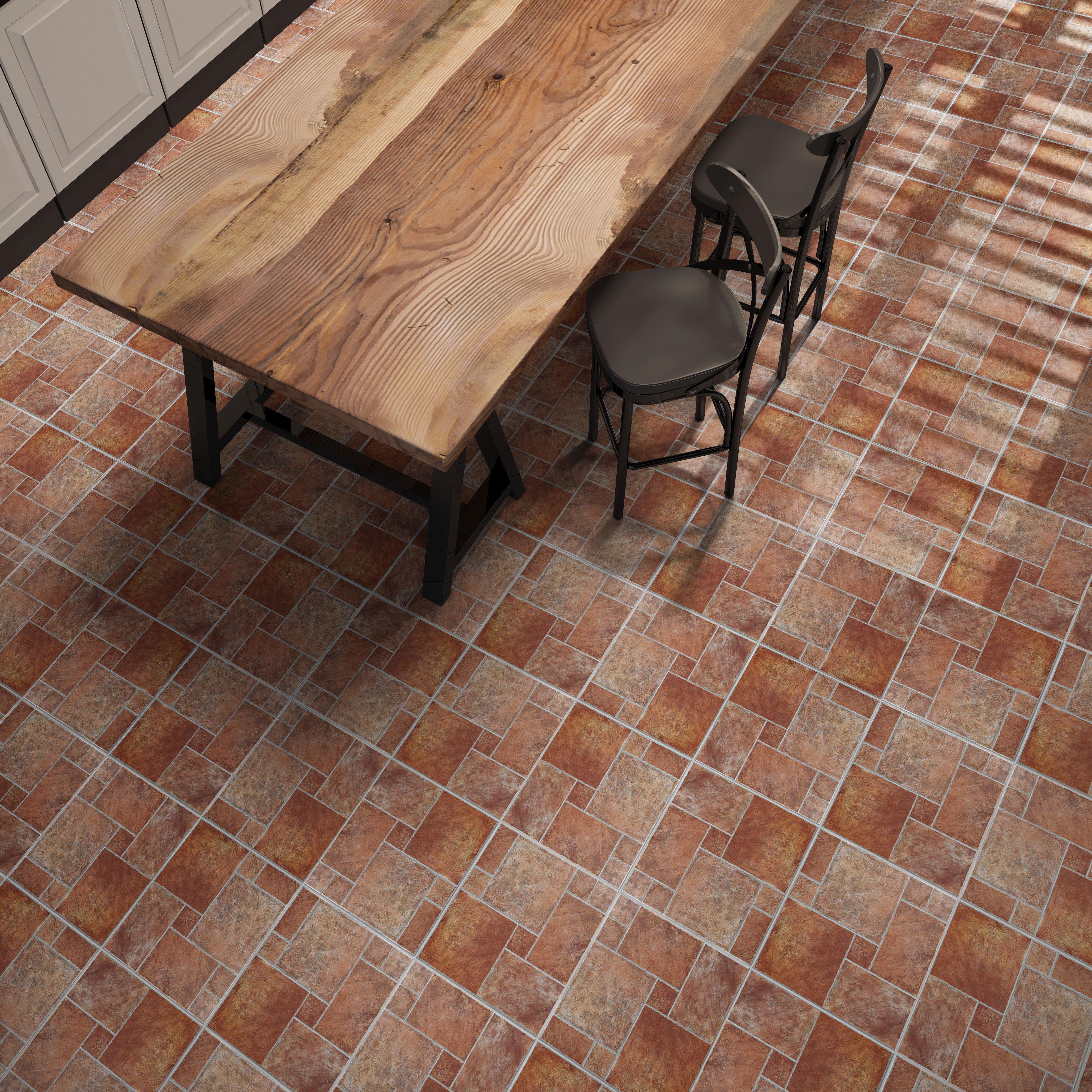 Terracotta floor tiles wooden furniture stock photos amp terracotta - Track Terracotta Ceramic Tile Click To Zoom