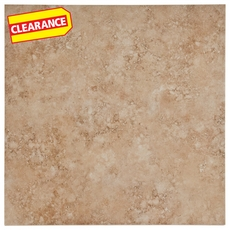 Clearance! Rotorome Beige White Body Ceramic Tile