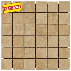Clearance! Seville Nutmeg Porcelain Mosaic