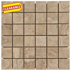 Clearance! Seville Gray Porcelain Mosaic