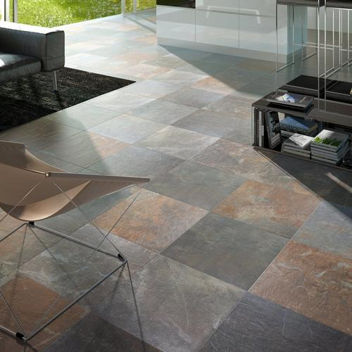 Slate Multicolor Porcelain Tile 13 X 13 912102002 Floor And Decor