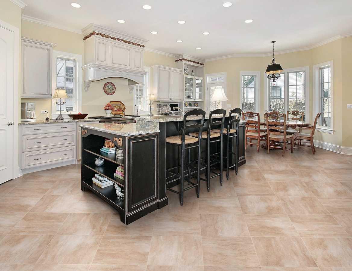 Kitchen gallery floor decor rooms kitchen 34 costa bella beige porcelain tile inxin kitchen floor room dailygadgetfo Gallery