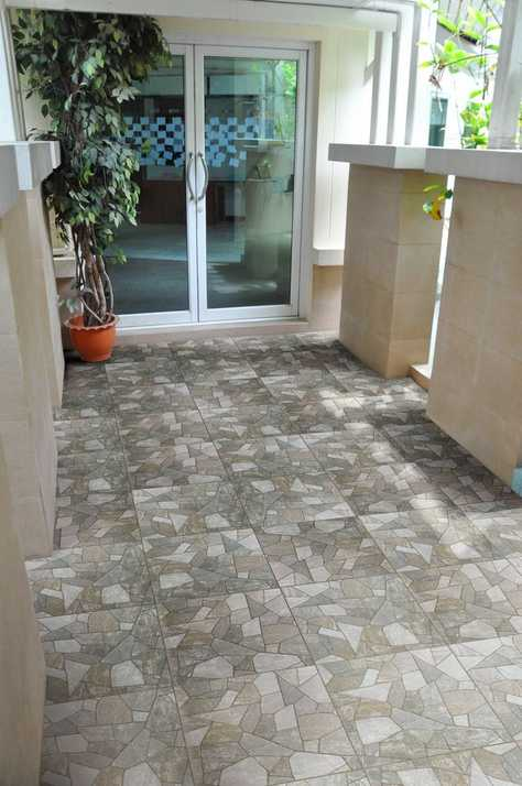 outdoor 4 macaras gray porcelain tile patio floor room - Patio Flooring