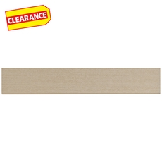 Clearance! Tango White Porcelain Bullnose