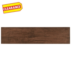 Clearance! Anticho Chestnut Wood Plank Porcelain Tile
