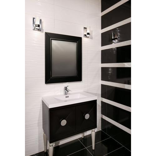 Super Black Porcelain Tile - 12 x 24 - 912500186 | Floor and Decor