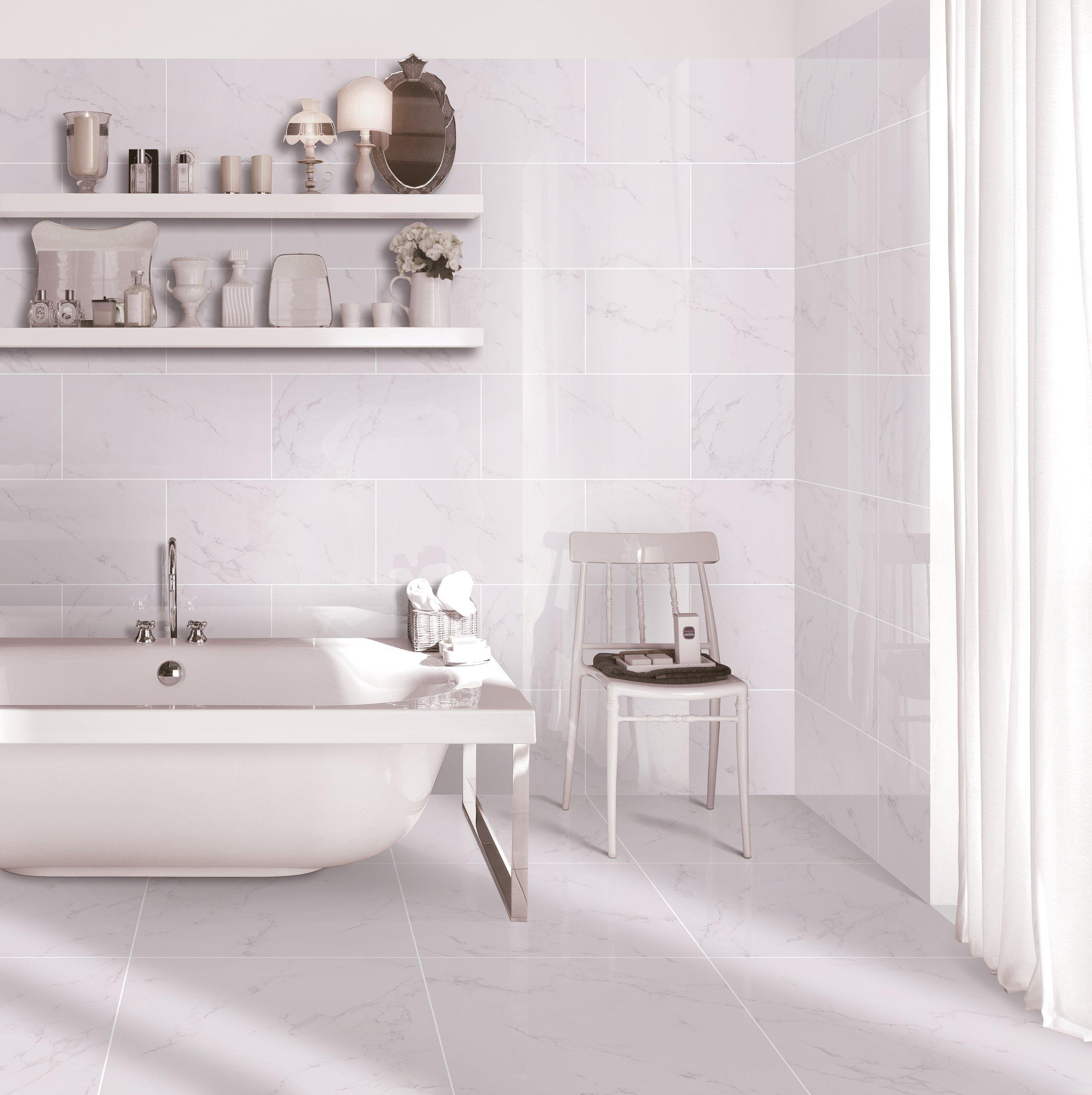 white porcelain tile floor.  White Porcelain Tile Floor Beautiful Wickes Madeira Limed Intended