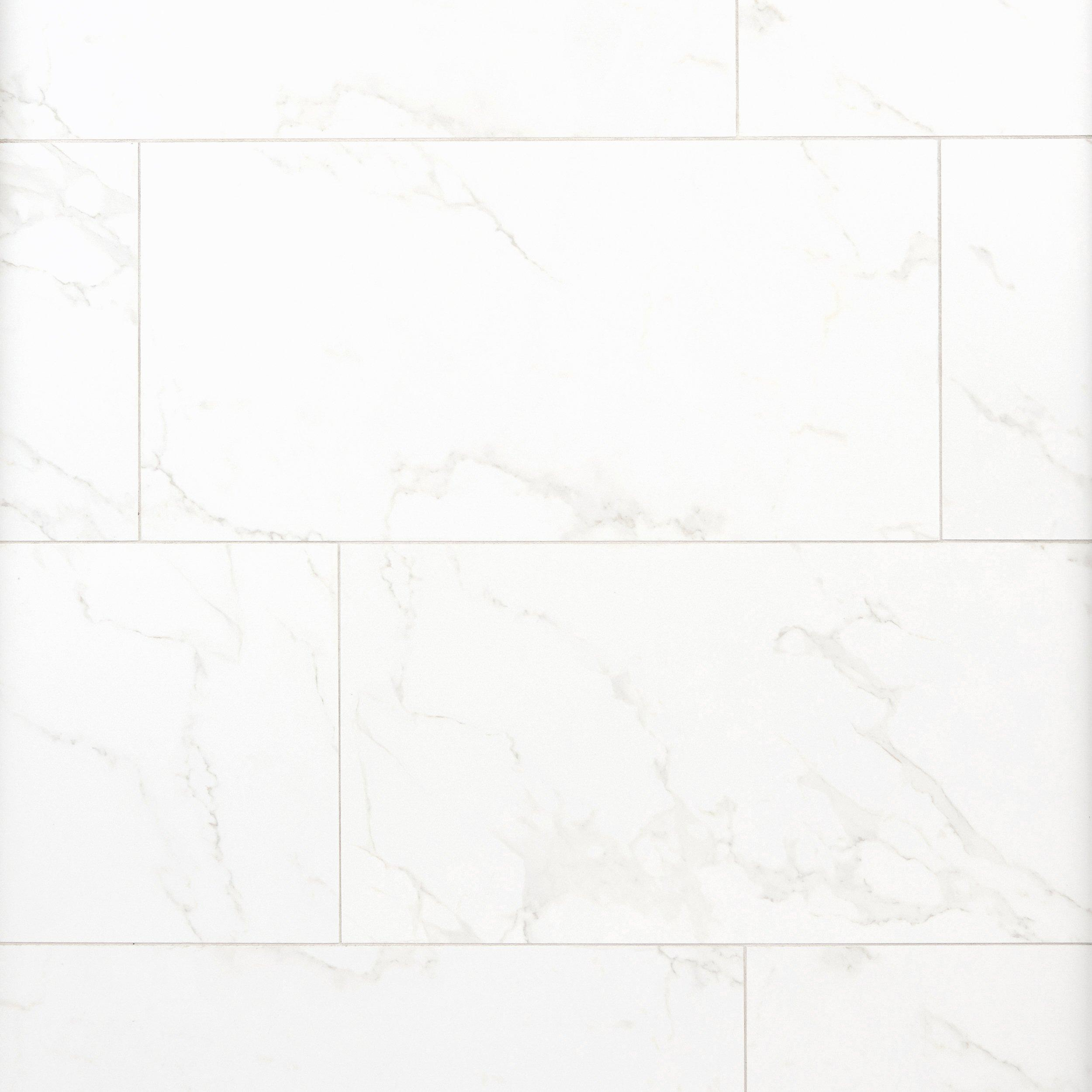 Carrara Polished Porcelain Tile   12 X 24   912500311 | Floor And Decor