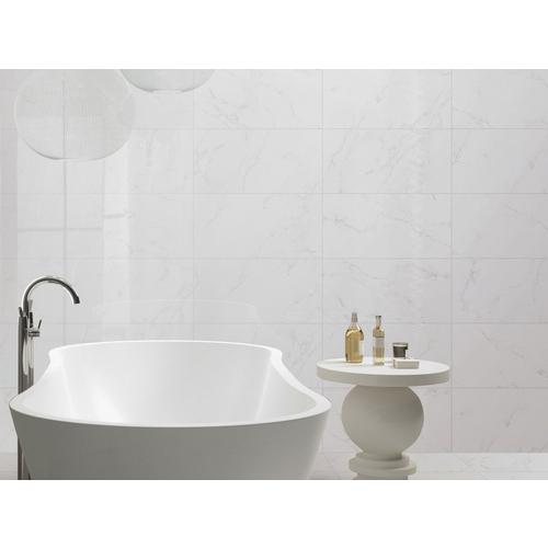 Carrara Polished Porcelain Tile X Floor And Decor - Carrara porcelain tile 3x6
