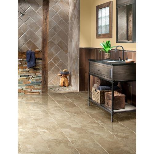 Tarsus Beige Polished Porcelain Tile 12 X 24 912500389 Floor