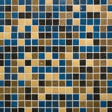 Festival Matte Square Glass Mix Mosaic
