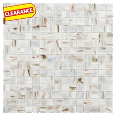Clearance! Art Van Gold Mix Glass Mosaic