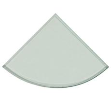 Tempered Glass Corner Shower Shelf
