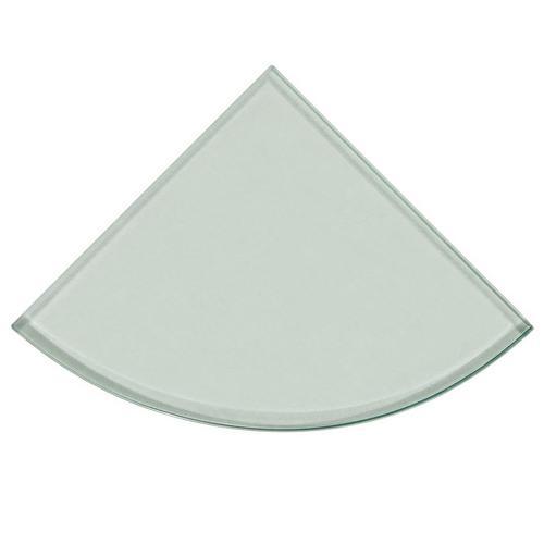 tempered glass corner shower shelf - Glass Corner Shelves