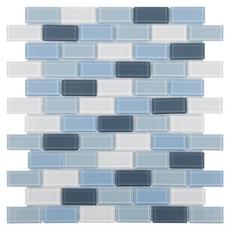 Marsala Brick Glass Mosaic