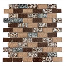 Modica Brick Glass Mosaic