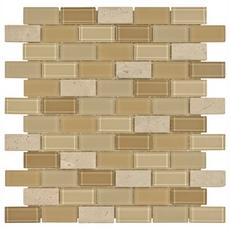 Gela Brick Glass Mosaic