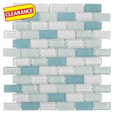 Clearance! Vittoria Brick Glass Mosaic