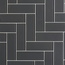 Pure Shadow Shiny Glass Tile