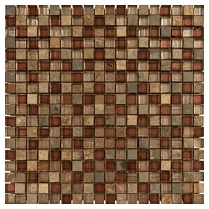 Villa Regina Glass Mosaic