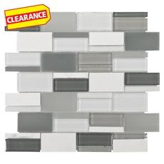 Clearance! Nanuya Mix Brick Glass Mosaic