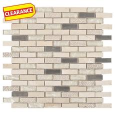 Clearance! Kadavu Brick Glass Mosaic