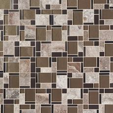 Stone Matrix Classic Glass Mosaic