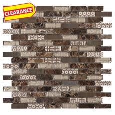 Clearance! Laotuka Brick Glass Mosaic