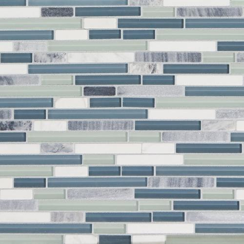 Swell Waterfall Linear Glass And Stone Mosaic 12 X 14 Download Free Architecture Designs Scobabritishbridgeorg