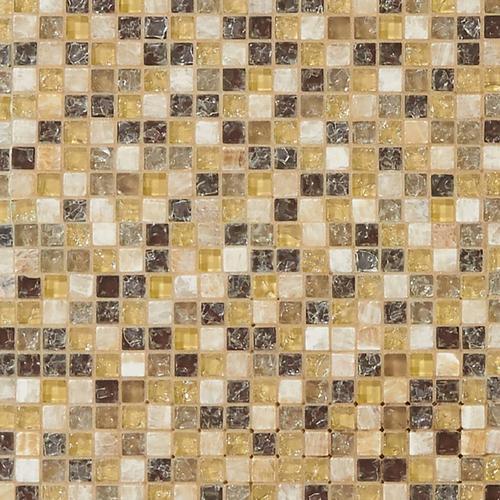 Mediterranean Glass And Stone Mosaic 12 X 12 913500574 Floor