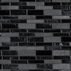 Santa Fe Linear Glass Mosaic