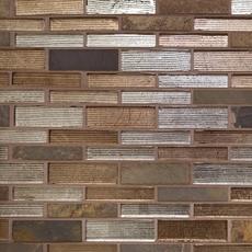 Rafaela Linear Glass Mosaic
