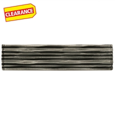 Clearance! Murano Tempest Clear Glass Border