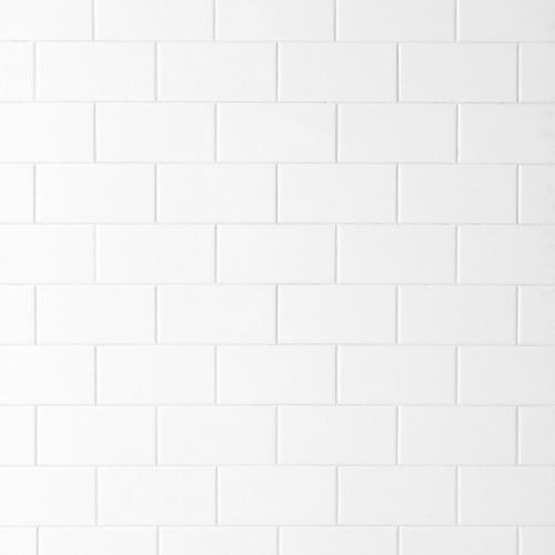 bright white subway ceramic wall tile 3in x 6in