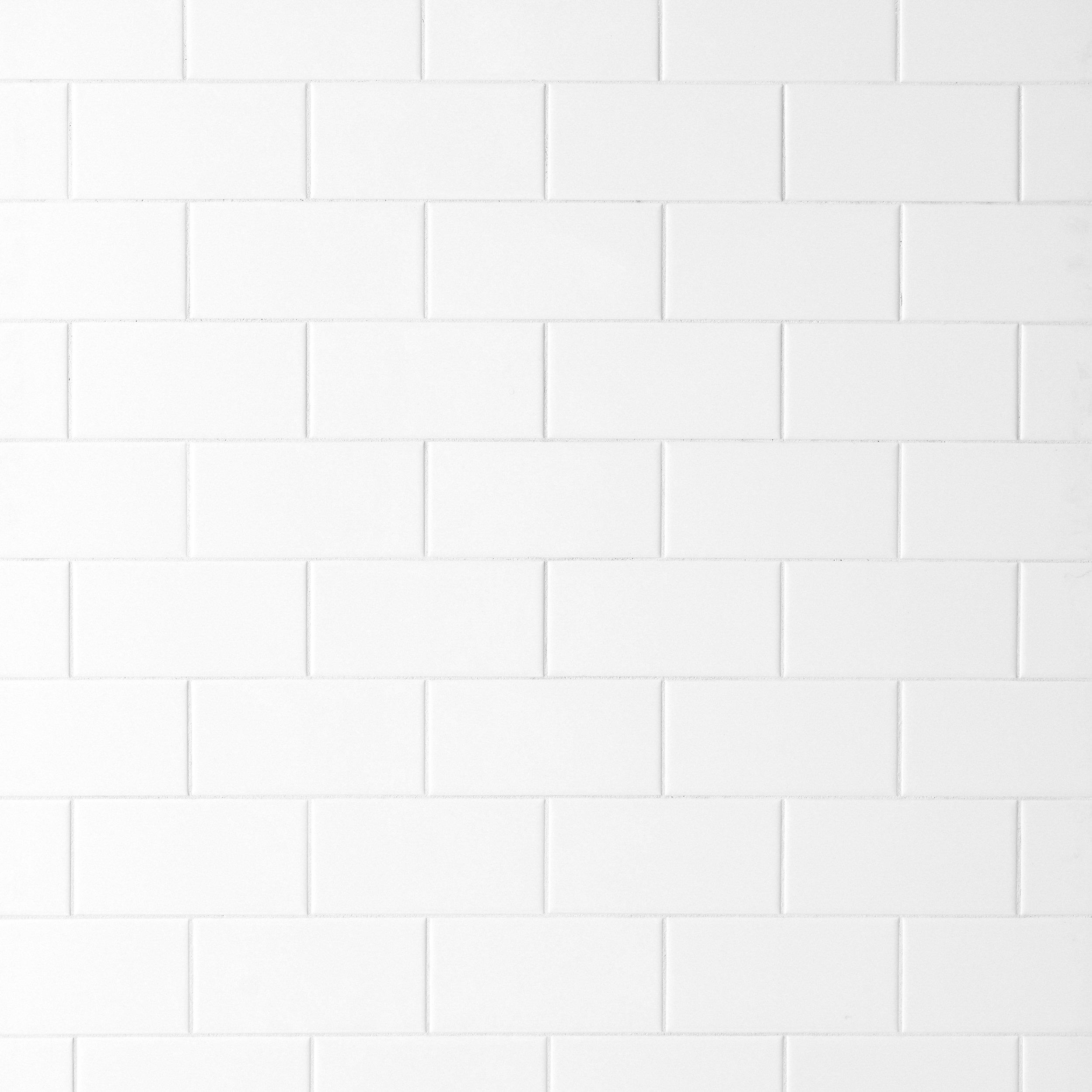 Bright White Ice Subway Ceramic Wall Tile   3in. X 6in.   914100887 | Floor  And Decor