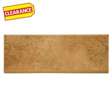 Clearance! Pompeii Mocha Ceramic Bullnose