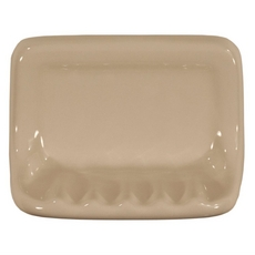Bone Ceramic Soap Dish