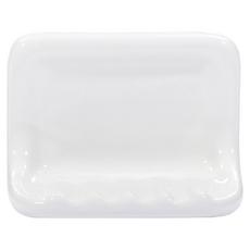 White Ceramic Soap Dish