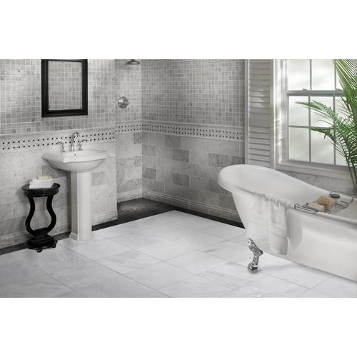Carrara White Marble Tile 18 X 18 921100395 Floor And Decor