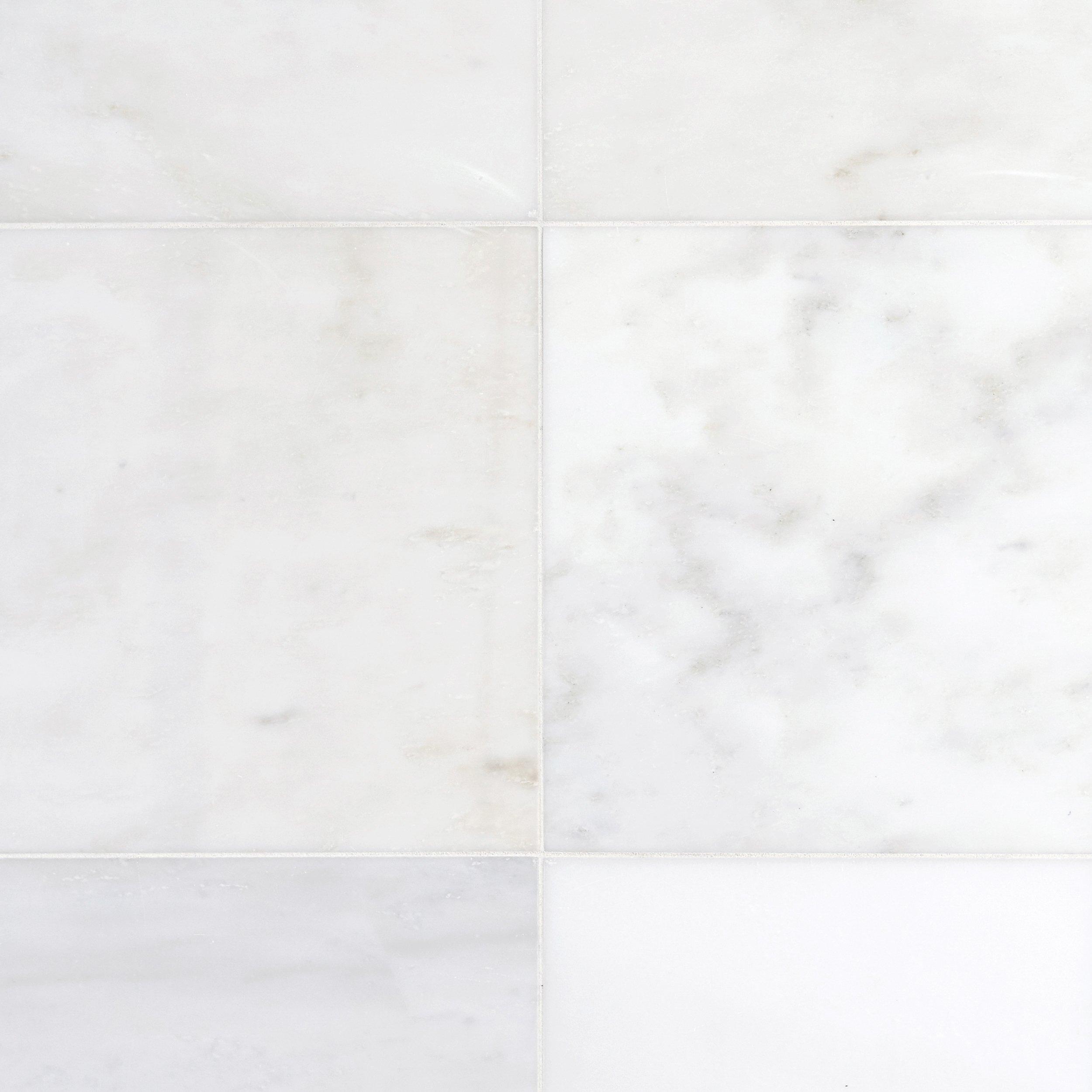 White marble tile flooring Sange Mar Mar Carrara White Marble Tile Global Sources Carrara White Marble Tile 18 18 921100395 Floor And Decor