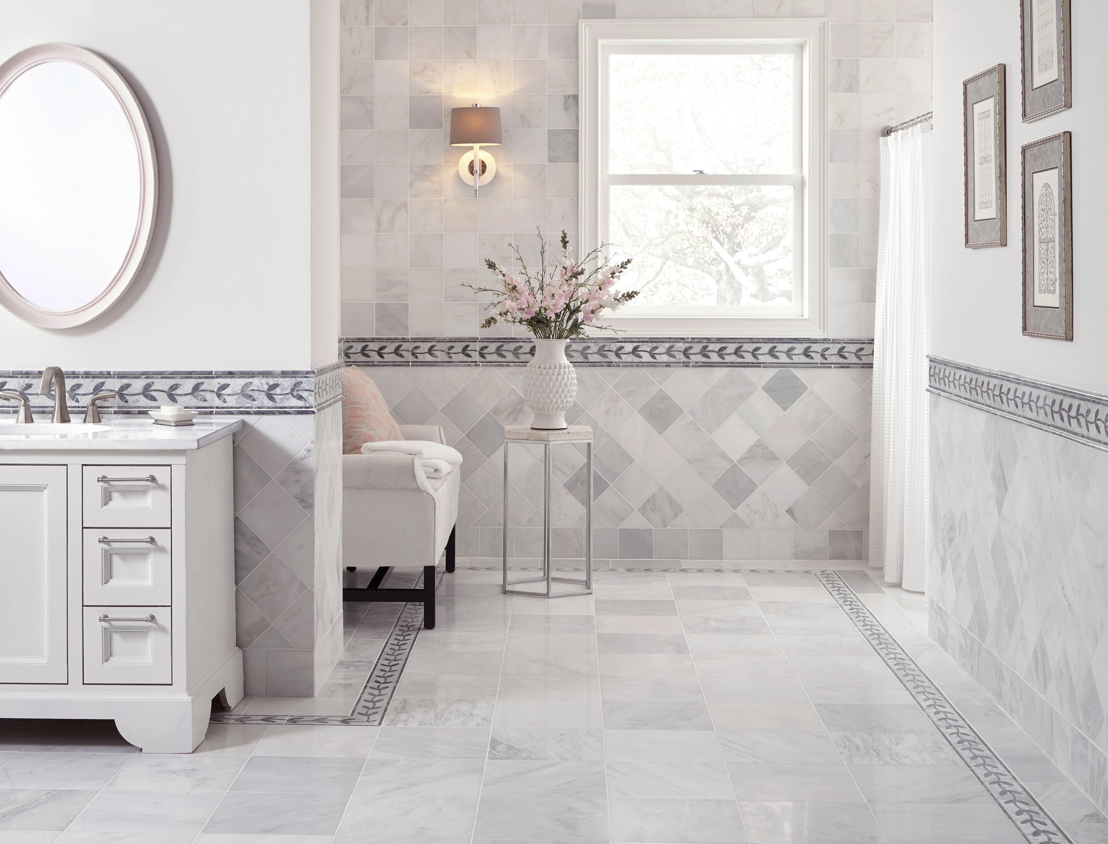 - Carrara Gray Mix Chevron Marble Mix Mosaic Wall And Floor Tile