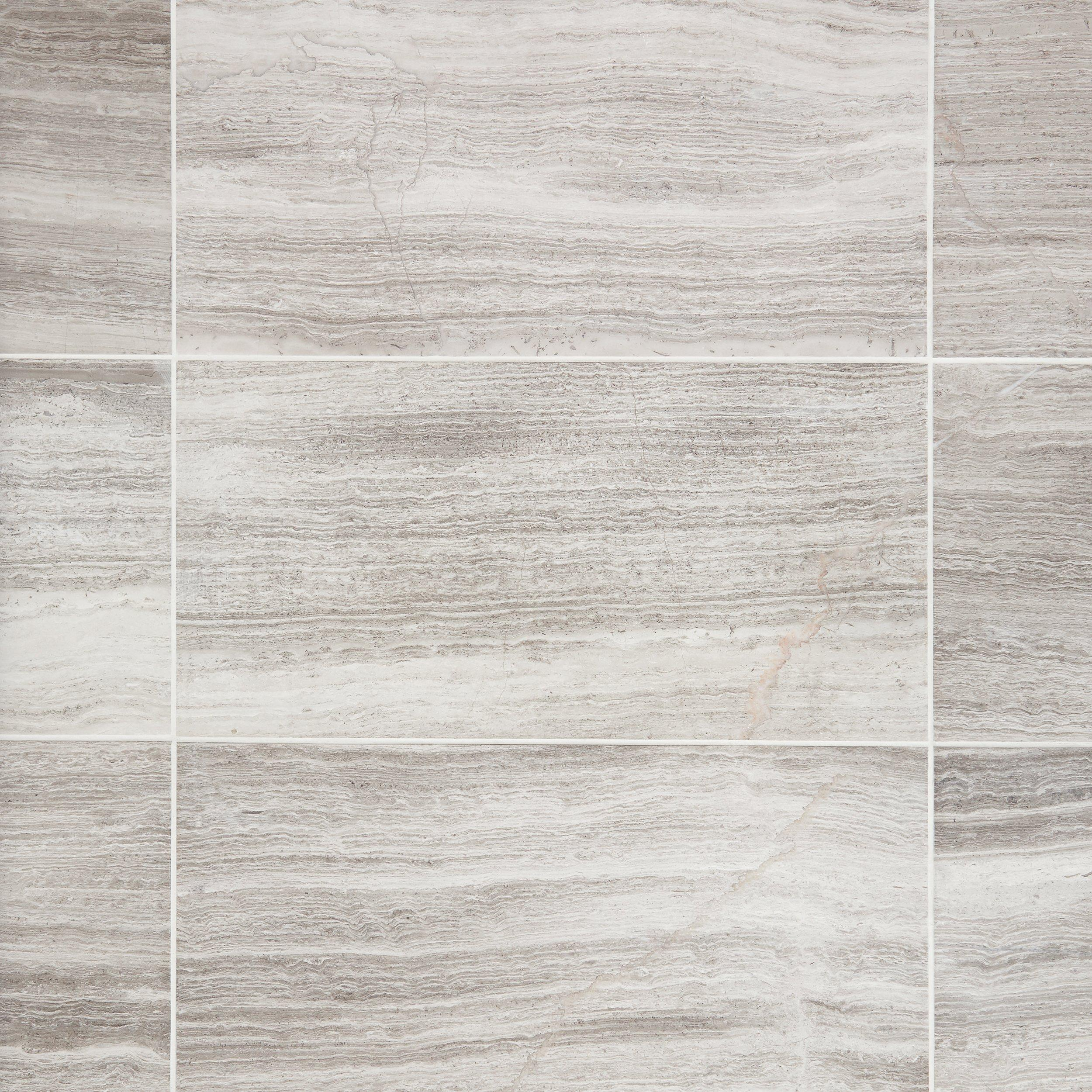 Valentino White Marble Tile 12 x 24 921100560 Floor and Decor