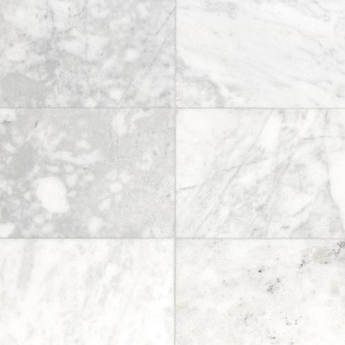 Carrara Milano Polished Marble Tile  12 x 24 921100750 Floor and Decor